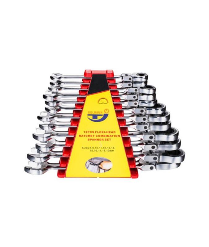 12件套活动棘轮两用扳手 G13S12